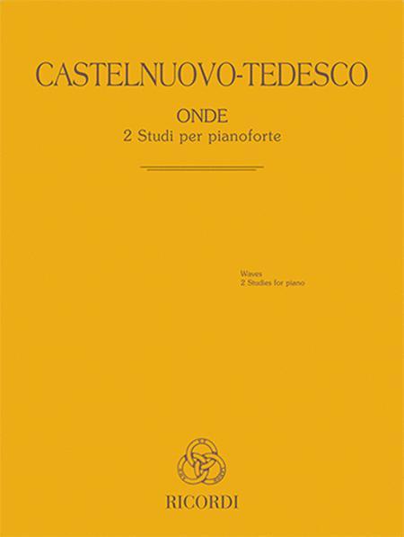 Onde - 2 Studi per pianoforte