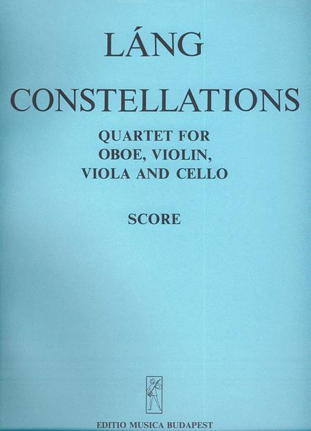 Constellations Qiuartett fur Oboe, Violine, Viol