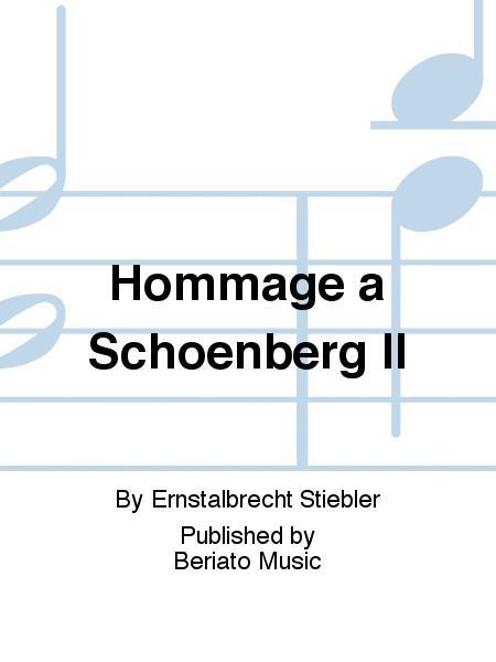 Hommage a Schoenberg II