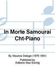 In Morte Samourai Cht-Piano