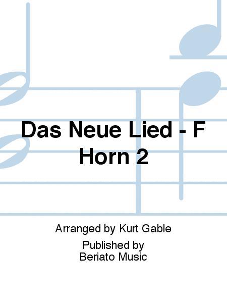 Das Neue Lied - F Horn 2