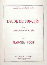 Etude De Concert Trp-Piano