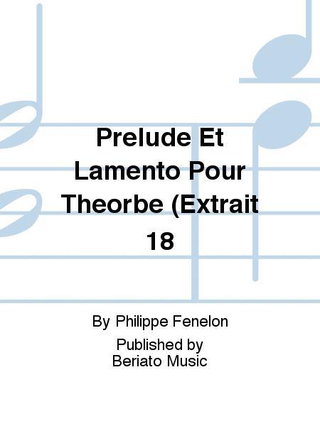 Prelude Et Lamento Pour Theorbe (Extrait 18