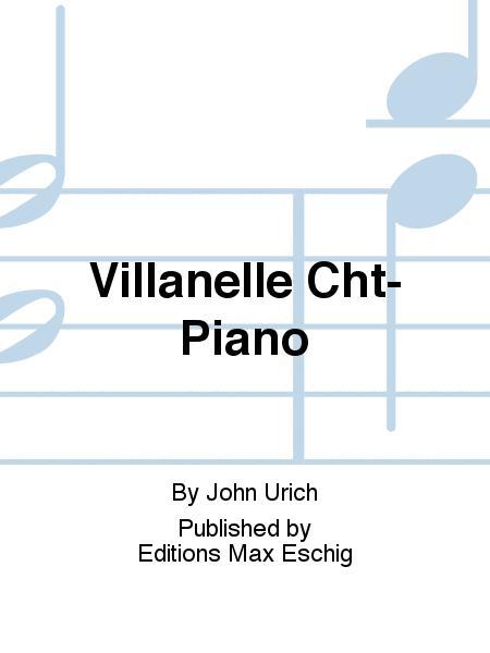 Villanelle Cht-Piano