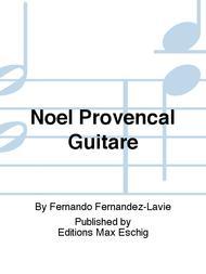 Noel Provencal Guitare