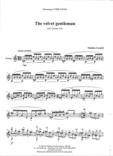 The Velvet Gentleman