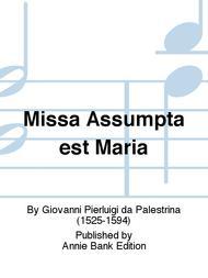 Missa Assumpta est Maria