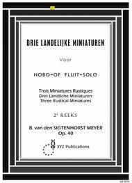 3 Landelijke Miniaturen 2e Reeks,Vol.2