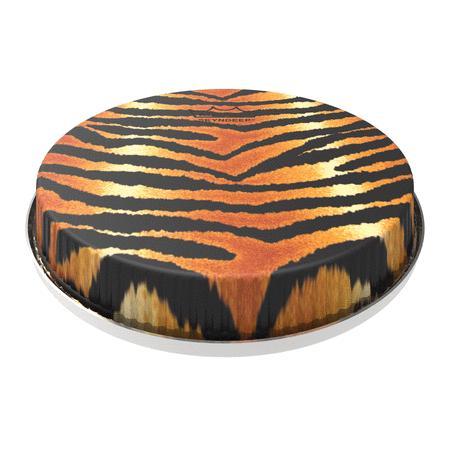 Bongo Drumhead, R-series, 8.50, Skyndeep, tiger Stripe Graphic