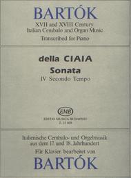 Sonata in sol maggiore IV Secondo Tempo