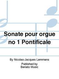 Sonate pour orgue no 1 Pontificale