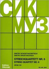 Quatuor No. 6 Op.101 In G