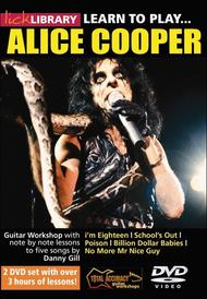 Learn To Play Alice Cooper
