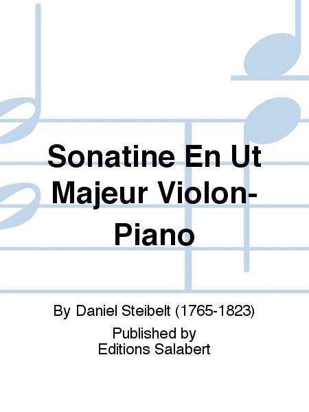 Sonatine En Ut Majeur Violon-Piano