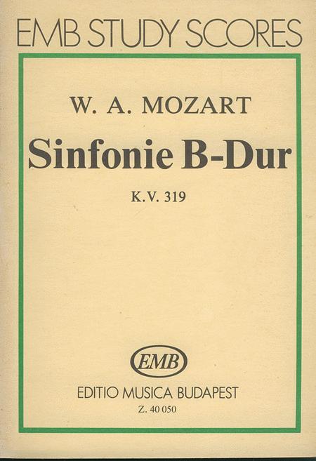 Sinfonie B-Dur, KV 319