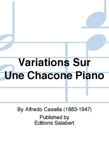 Variations Sur Une Chacone Piano