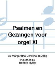 Psalmen en Gezangen voor orgel XI