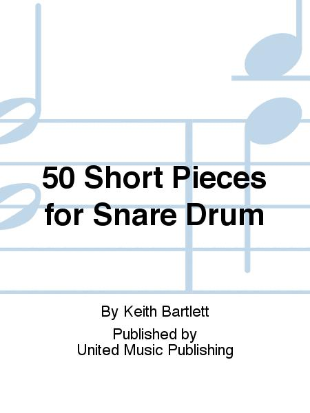 50 Short Pieces for Snare Drum