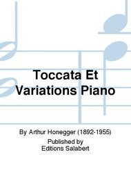 Toccata Et Variations Piano