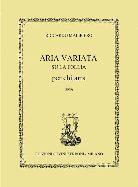 Aria Variata Su La Follia (1979)