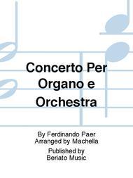 Concerto Per Organo e Orchestra
