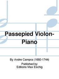 Passepied Violon-Piano