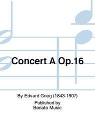 Concert A Op.16