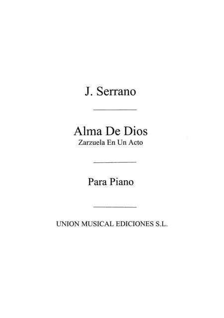 Alma De Dios No.5 For Piano
