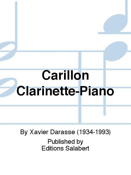 Carillon Clarinette-Piano