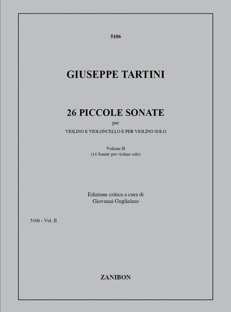 26 Piccole Sonate