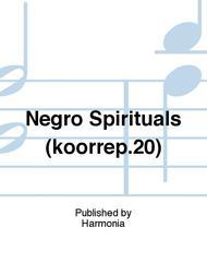 Negro Spirituals (koorrep.20)