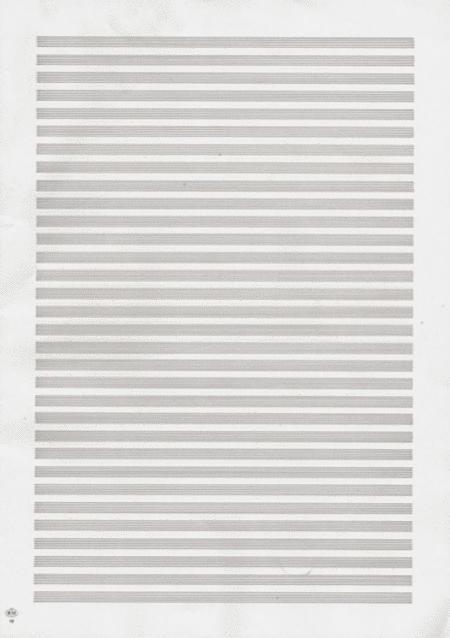 Carta da Musica (Cuadernillo, Papier a Musique)