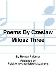 Milosz Poems 2