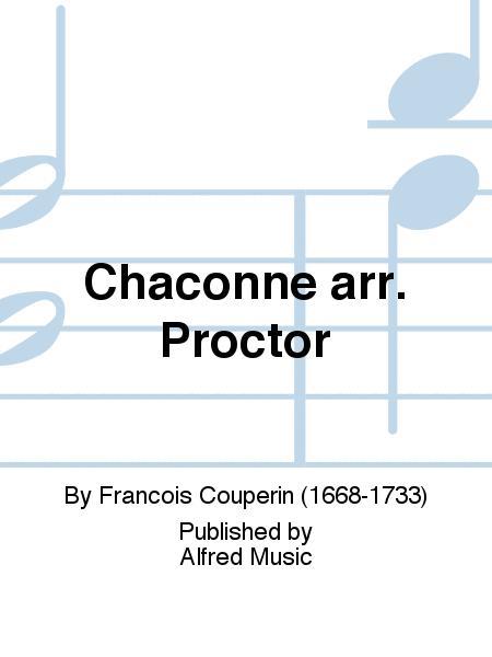 Chaconne arr. Proctor