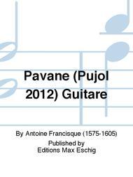 Pavane (Pujol 2012) Guitare