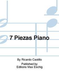 7 Piezas Piano