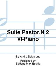 Suite Pastor.N 2 Vl-Piano