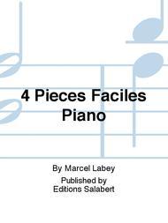 4 Pieces Faciles Piano