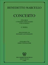 Concerto c-moll fur Oboe und Orchester