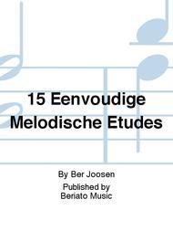 15 Eenvoudige Melodische Etudes
