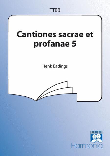 Cantiones sacrae et profanae 5