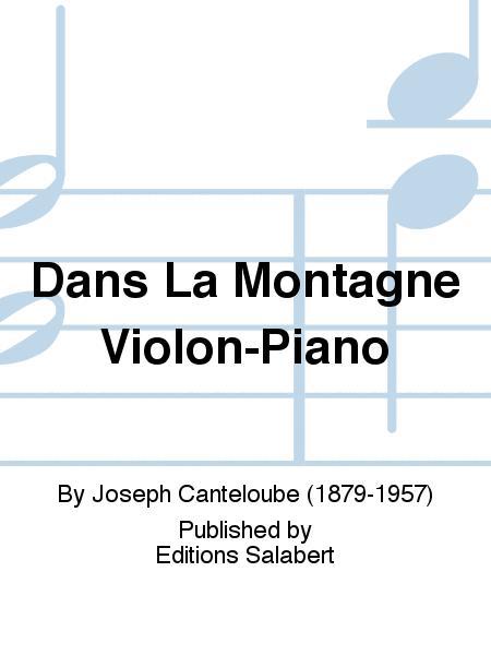 Dans La Montagne Violon-Piano
