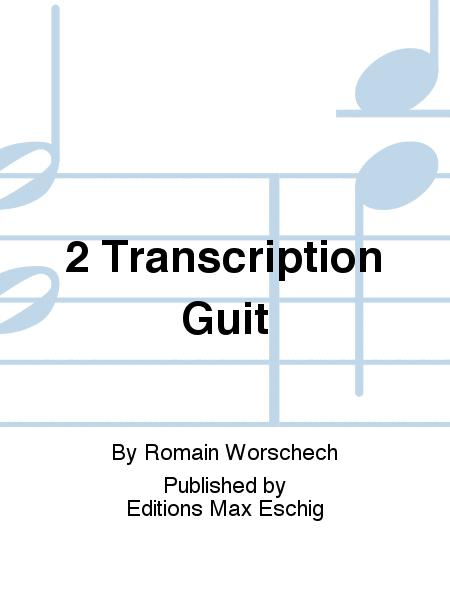 2 Transcription Guit