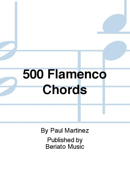 500 Flamenco Chords