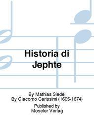 Historia di Jephte