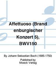 Affettuoso (Brandenburgischer Konzert 5), BWV150