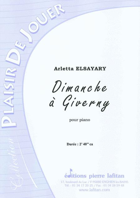 Dimanche a Giverny