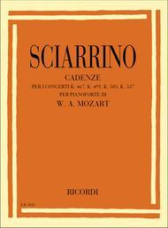 Cadenze Per I Concerti Per Pianoforte Kv 467