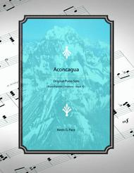 Aconcagua - original piano solo