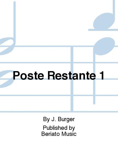 Poste Restante 1